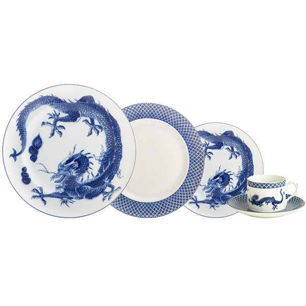 Blue Dragon Fine China Collection