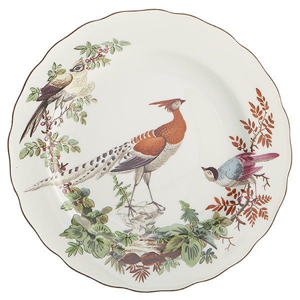 Chelsea Bird Set of 4 Dessert Plates