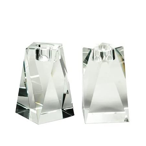 Brigitte Crystal Candlesticks - 2 Sizes Available