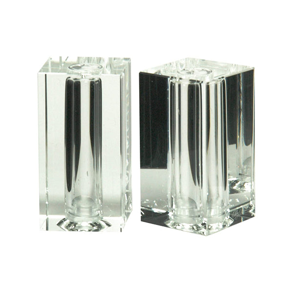Pure Crystal Salt and Pepper Shaker Set