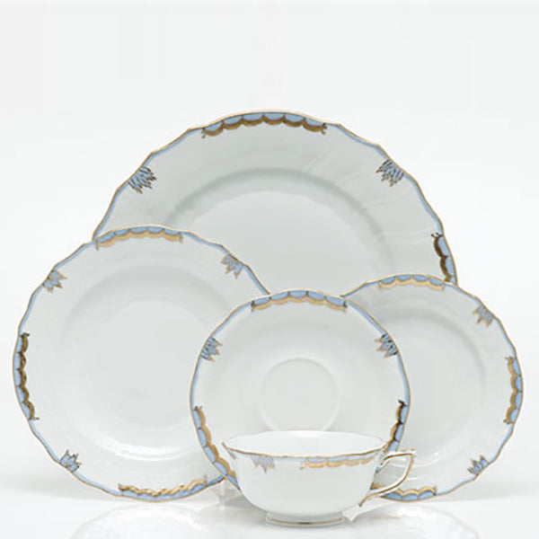 Princess Victoria Light Blue Fine China Collection