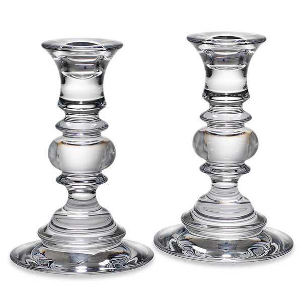 Weston Crystal Candle Stick Set - 2 Sizes Available
