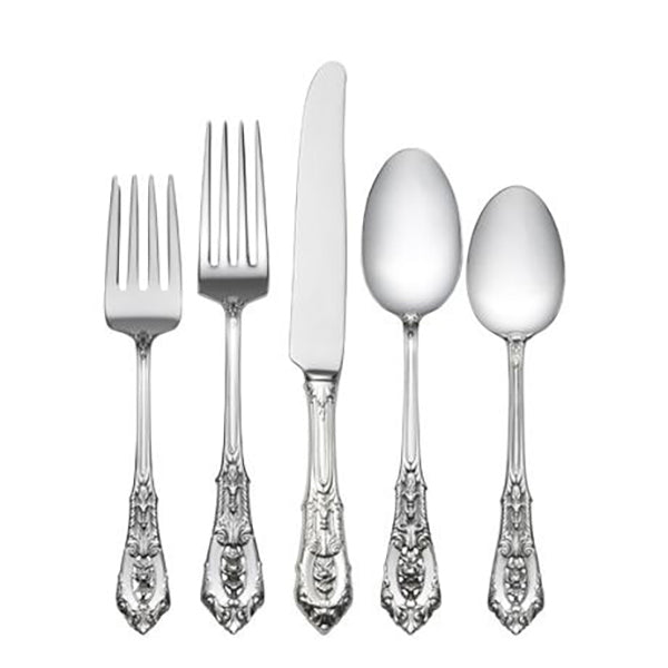 Rose Point Sterling Silver Flatware Collection