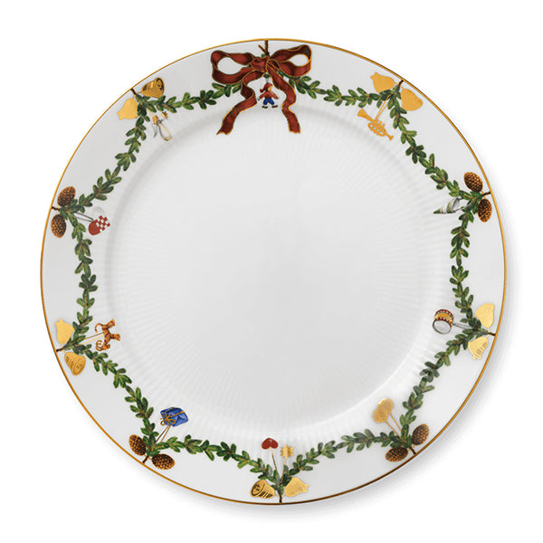 Star Fluted Christmas Fine China Collection