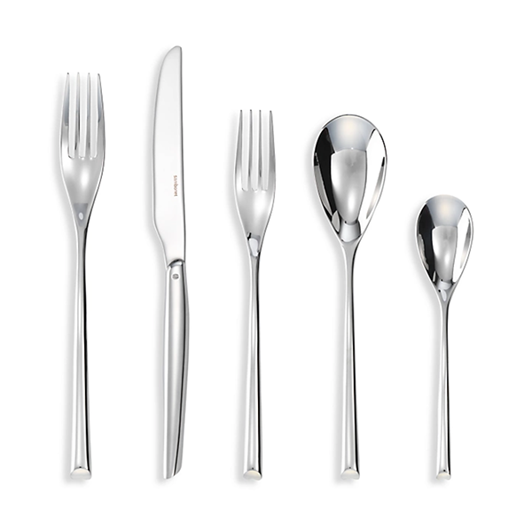 H-Art 5-Piece Stainless Steel Place Setting Set