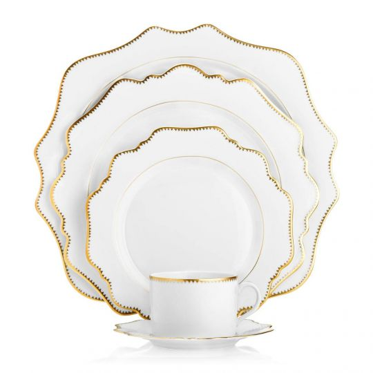 Simply Anna Antiqued Fine China Collection