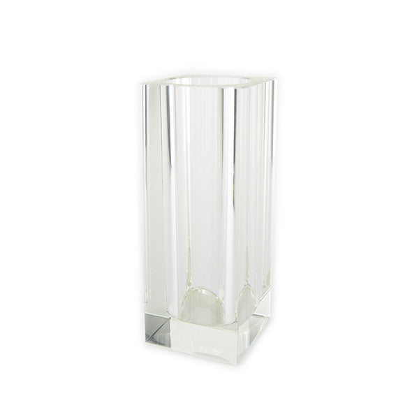 Square Crystal Vase