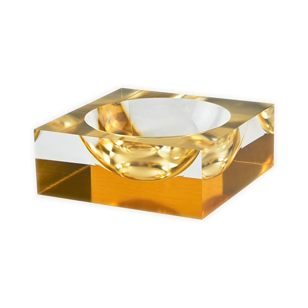 Lucite Bowl - 2 Colors Available