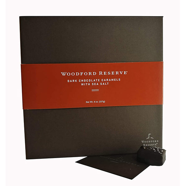 Woodford Reserve Dark Chocolate Caramels with Sea Salt