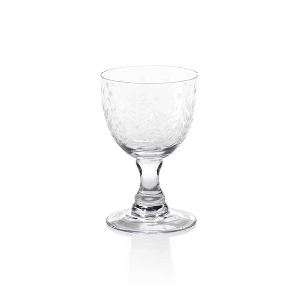Spring Leaves Glassware Collection