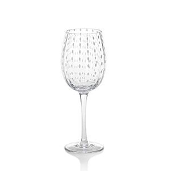 White Dot Glassware Collection