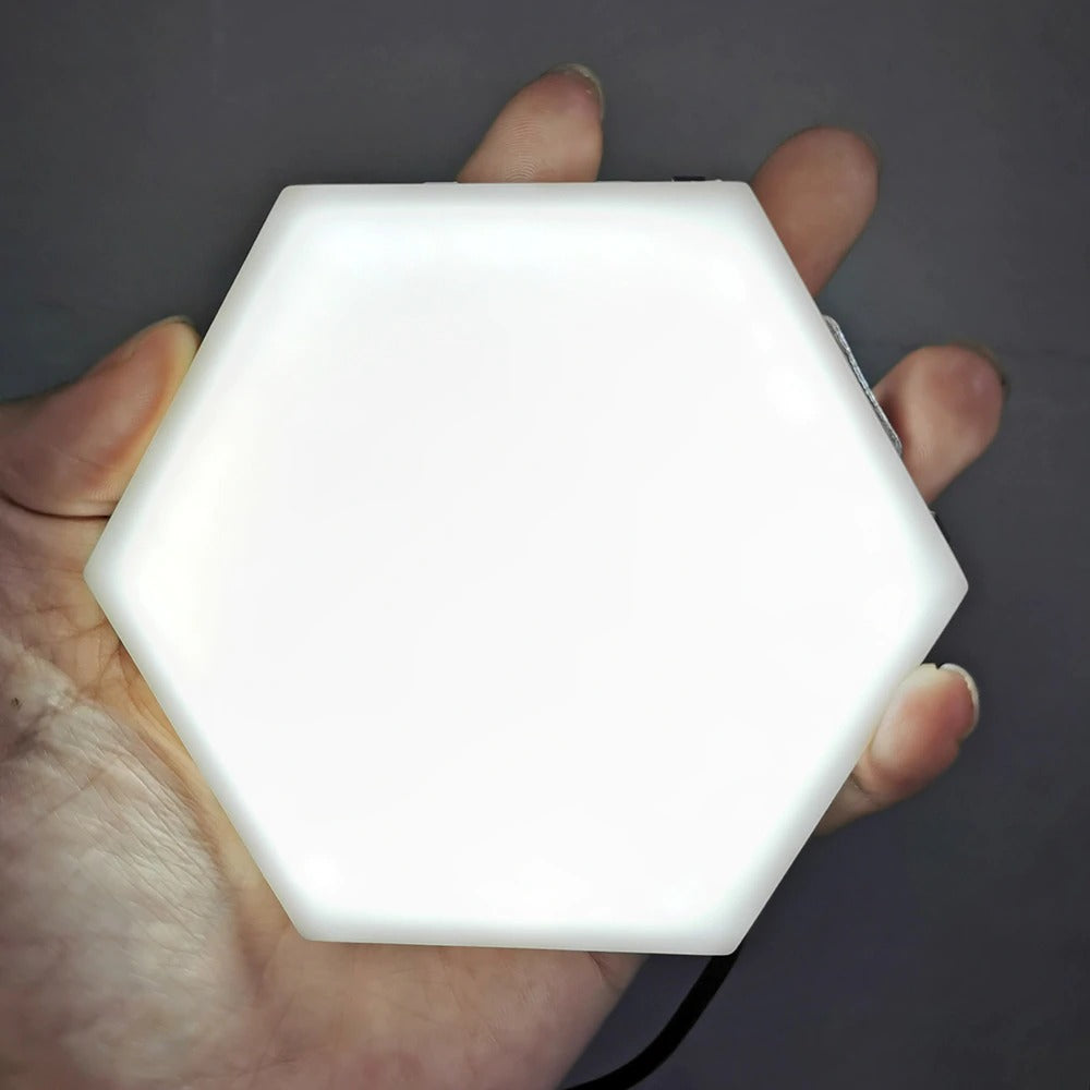 Light Touch Sensitive Sensor Night Lamp Modular Hexagonal LED Magnetic Wall Lamp LED night light