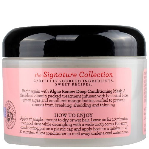 Camille Rose Naturals Algae Renew Deep Conditioner - flocohair