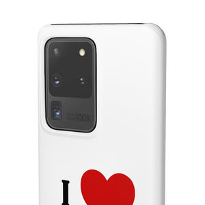 I Love Selling Homes Phone Case White