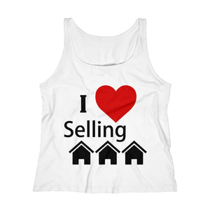 """I Love Selling Homes"" Women's Relaxed Tank Top"