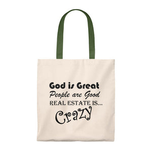 """God is Great"" Tote Bag"