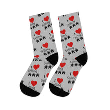 "Load image into Gallery viewer, ""I Love Selling Homes"" Socks"