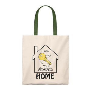 """Key to Your Dream Home"" Tote Bag"
