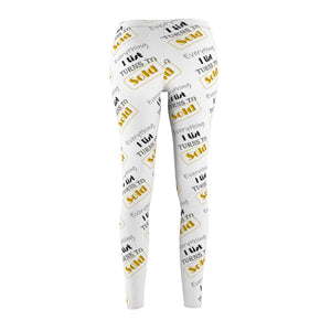 """Everything I List Turns to Sold"" White Leggings"