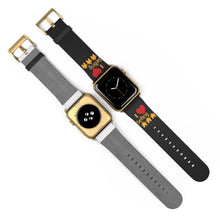 "Load image into Gallery viewer, ""I Love Selling Homes"" Black Apple Watch Band"