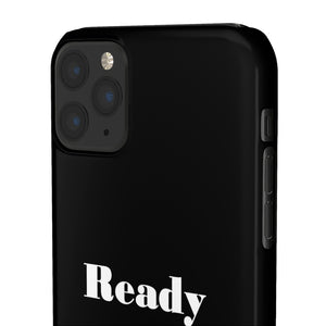 Ready Set Sell Phone Case Black