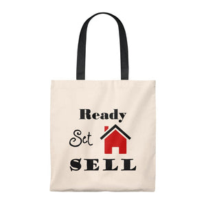 """Ready, Set, Sell"" Tote Bag"
