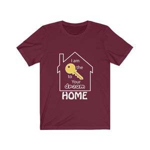 """Key to Your Dream Home"" Tee"