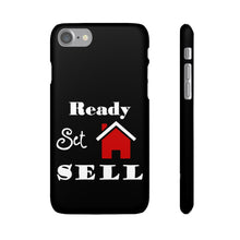 Load image into Gallery viewer, Ready Set Sell Phone Case Black