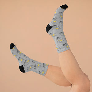 """Key to Your Dream Home"" Socks"