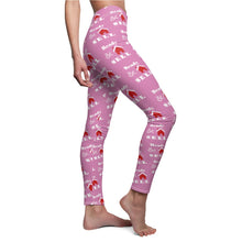 "Load image into Gallery viewer, ""Ready, Set, Sell"" Pink Leggings"
