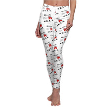"Load image into Gallery viewer, ""Ready, Set, Sell"" White Leggings"