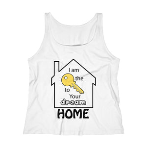 """Key to Your Dream Home"" Women's Relaxed Tank Top"