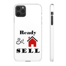 Load image into Gallery viewer, Ready Set Sell Phone Case White