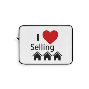 """I Love Selling Homes"" Laptop Sleeve"