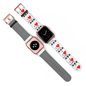 """I Love Selling Homes"" Apple Watch Band"