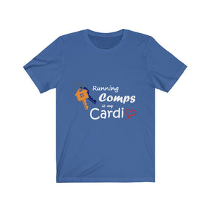 """Running Comps is My Cardio"" Tee"