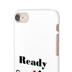 Ready Set Sell Phone Case White