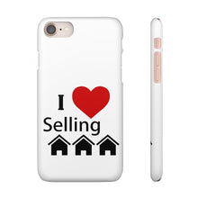 Load image into Gallery viewer, I Love Selling Homes Phone Case White