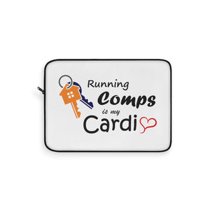 """Running Comps is My Cardio"" Laptop Sleeve"