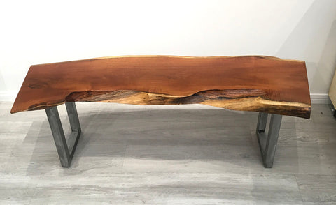 "BADA BING BADA BENCH, Hawaiian Kiawe Bench (or Console Table), 52""W x 15""D x 18""H, 2018"