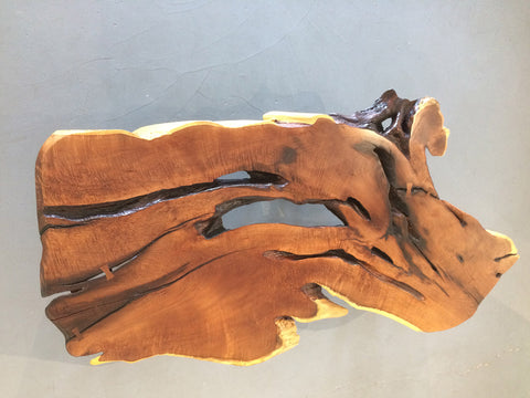 "HOLY KIAWE!, Hawaiian Kiawe Coffee Table, 72""W x 36""D x 18""H, 2019"