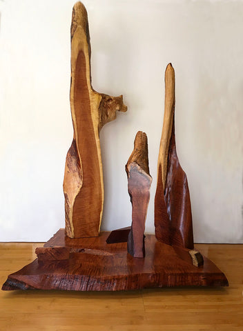 "UNTITLED, Hawaiian Kiawe Sculpture, 31""W x 21""D x 48""H, 2020,  REQUEST SHIPPING QUOTE"
