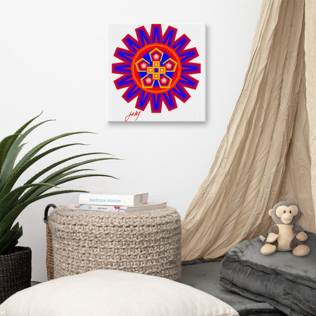 "Mandala Premier Collection - ""49""- Canvas"