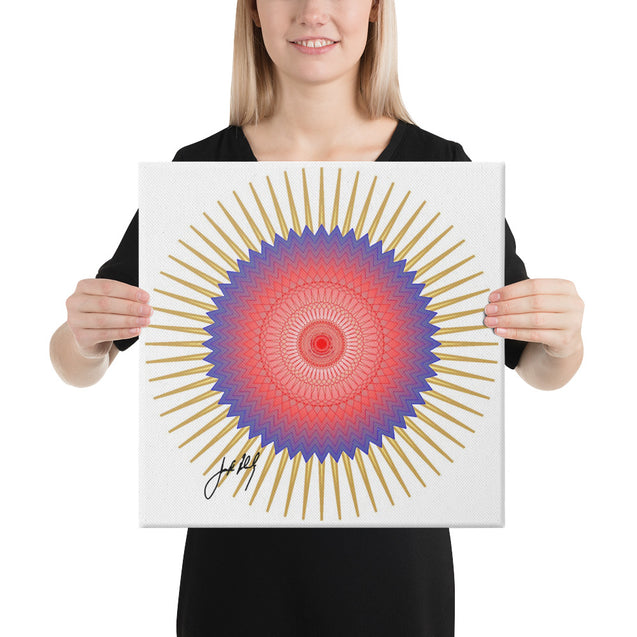 "Mandala Premier Collection - ""2""- Canvas"