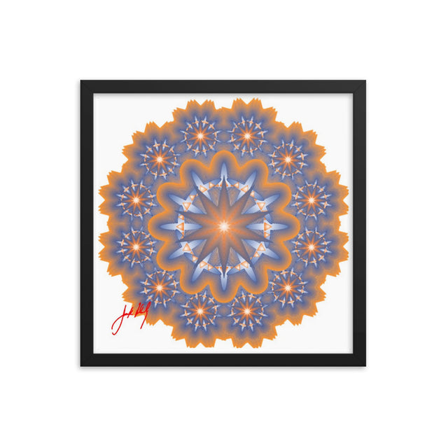 "Mandala Premier Collection - ""5""- Framed Poster"