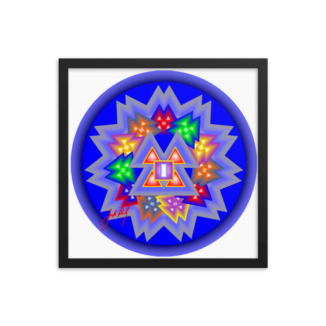 "Mandala Premier Collection - ""28""- Framed poster"