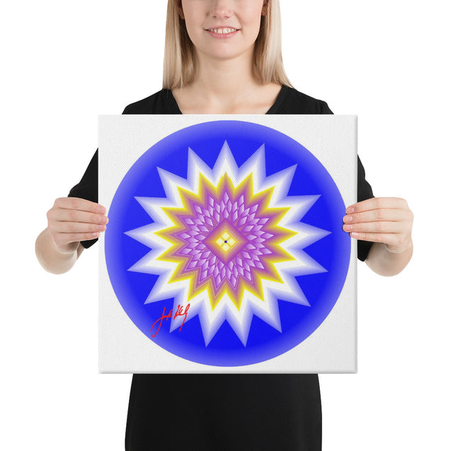 "Mandala Premier Collection- ""10""-Canvas"