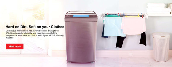 Nexus Washing Machines
