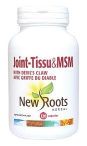 New Roots Joint-Tissu & MSM 120 veg caps