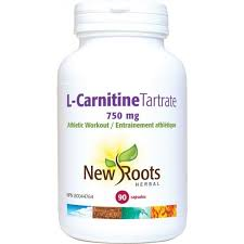 New Roots L-Carnitine Tartrate 750 mg 90 veg caps